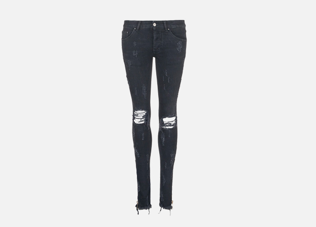 "Джинсы, Palm Angels<p><a style="""" target=""_blank"" href=""http://www.lanecrawford.com/product/palm-angels/-track-skinny-zip-cuff-distressed-jeans/_/AAY073/product.lc?countryCode=UK&utm_source=Affiliates&utm_medium=Affiliates&utm_campaign=Linkshare_UK&_country=GB"">lanecrawford.com</a></p>"