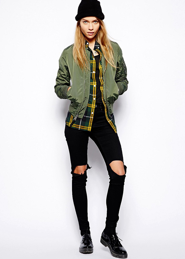"Alpha Industries<p><a target=""_blank"" href=""http://www.asos.com//Alpha-Industries/Alpha-Industries-Ma1-Bomber-Jacket/Prod/pgeproduct.aspx?iid=3962926&cid=11926&sh=0&pge=0&pgesize=36&sort=-1&clr=297%20spicy%20red&totalstyles=13&gridsize=3&affId=3181&WT.tsrc=Affiliate&zanpid=2170549549398479872&pubref=1517766&currencyid=19"">asos.com</a></p>"
