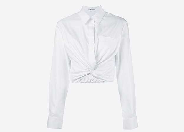 Рубашка T by Alexander Wang, farfetch.com