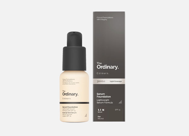 Coverage Foundation SPF15 от The Ordinary, 490 руб.