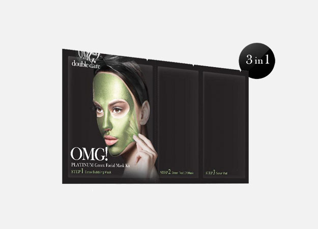 Platinum Green Facial Mask Kit от Double Dare OMG!, 790 руб.