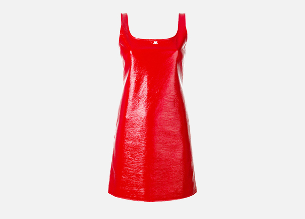 "Платье, Courrèges<p><a target=""_blank\"" href=\""https://www.farfetch.com/ru/shopping/women/courreges---item-12293915.aspx?storeid=9336&amp;from=listing&amp;tglmdl=1\"">Farfetch</a></p>"