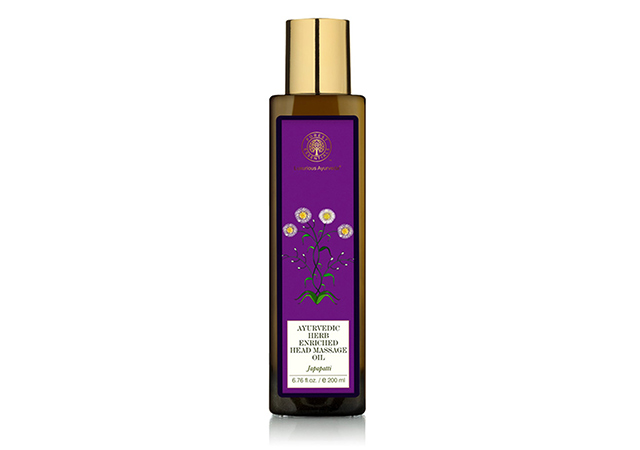 Ayurvedic Herb Enriched Head Massage Oil Japapatti