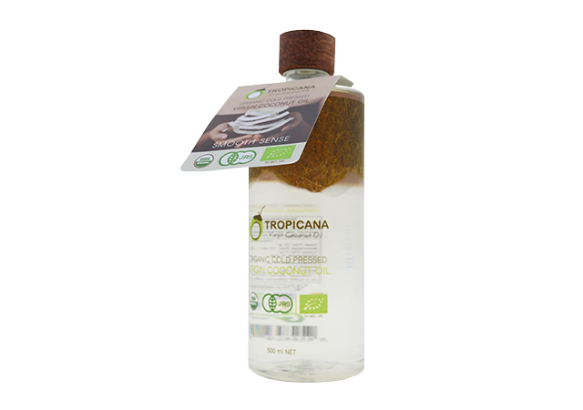 Organic Cold Pressed Virgin Coconut Oil 100% от Tropicana