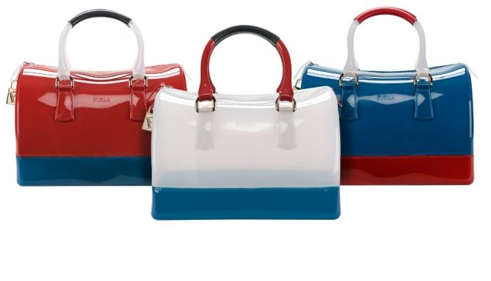 Итальянский бренд Furla представил новые модели сумок из линии Candy. далее.