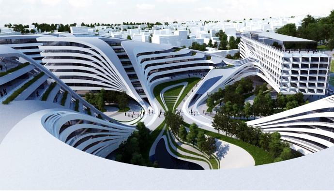 Хадид построит комплекс в центре Белграда