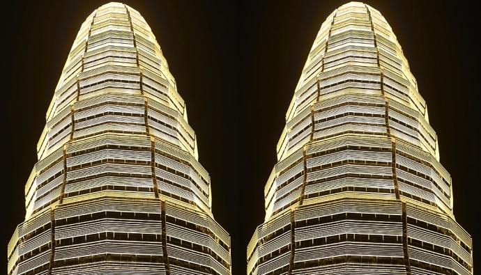 """Небоскреб """"Классическая колонна"""" в Китае"""