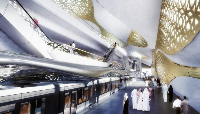 Заха Хадид построит метро в Саудовской Аравии
