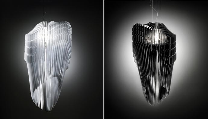 Лампа Aria от Захи Хадид