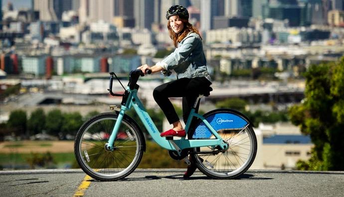 В Сан-Франциско стартовала городская велосипедная программа