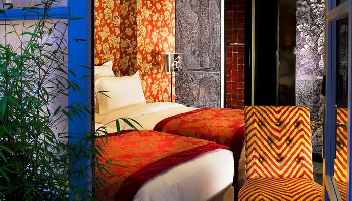 Отель Le Bellechasse с дизайном от Кристиана Лакруа