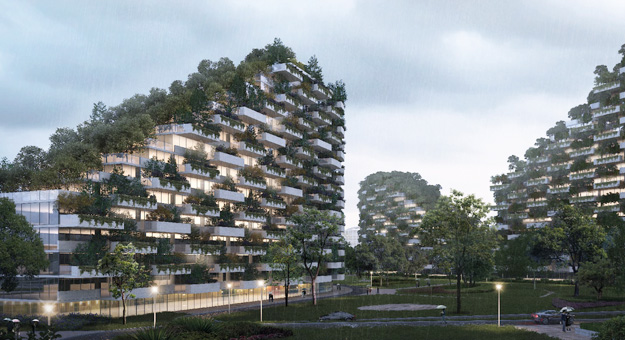 В Китае появится город-лес