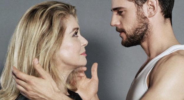 Катрин Денев снялась в рекламе Louis Vuitton