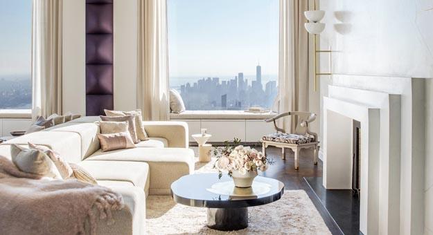 Как выглядят квартиры в самом высоком небоскребе Нью-Йорка
