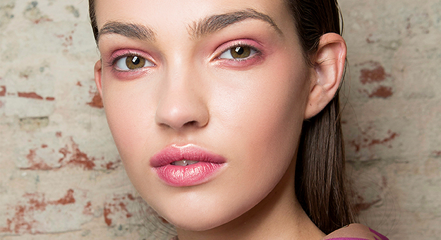 Как повторить макияж в одной гамме с показа Alberto Zambelli