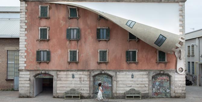 Как скульптор Алекс Чиннек расстегнул дом в Милане