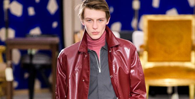 Hermès, мужская коллекция осень-зима 2019