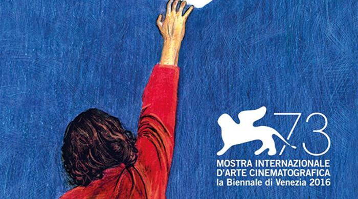 Представлен официальный постер 73-го Венецианского кинофестиваля