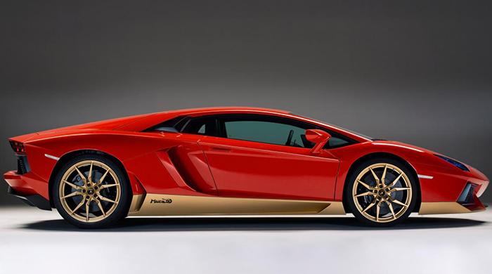 Lamborghini отмечают юбилей первого суперкара