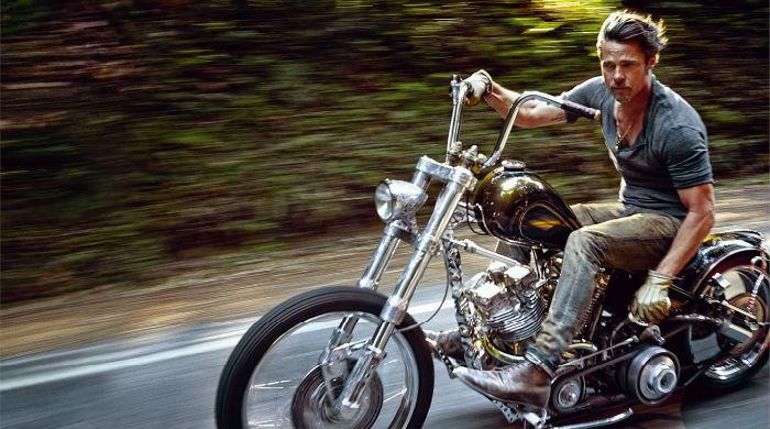 Брэд Питт озвучил трейлер документального фильма о мотогонщиках