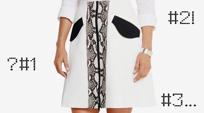 Одна вещь — три образа: юбка-трапеция Carven