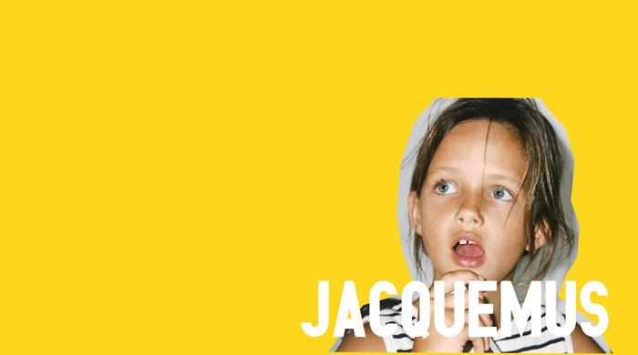 Рекламная кампания Jacquemus с детскими снимками самого дизайнера