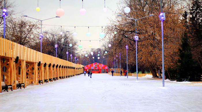 Каток в Парке Горького откроется 14 ноября