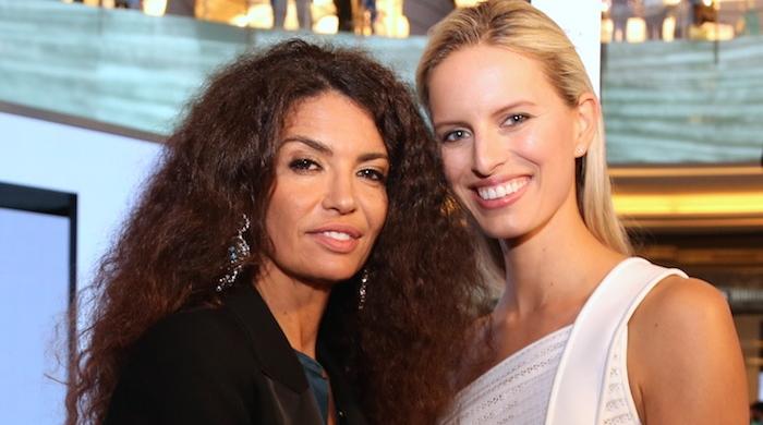 Открытие Vogue Fashion Dubai Experience в Арабских Эмиратах