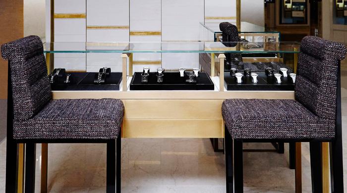 Chanel открыли первый часовой корнер на Новом Арбате