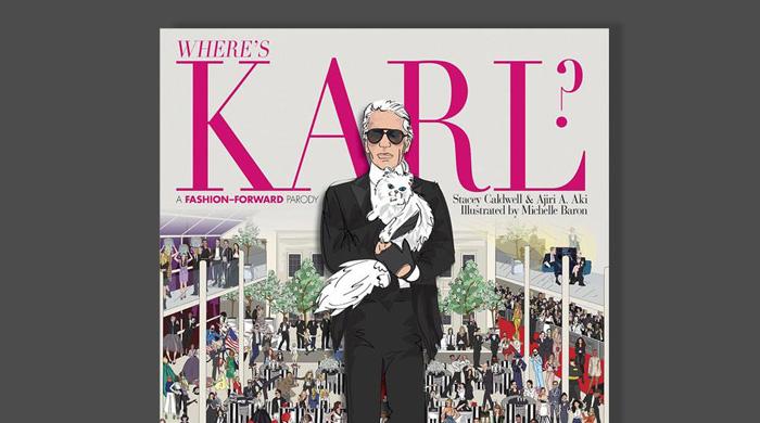 """""""Где же Карл?"""": иллюстрированная книга о похождениях Карла Лагерфельда"""
