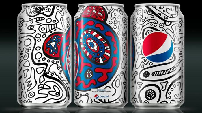 Никола Формикетти создал дизайн новой банки Pepsi