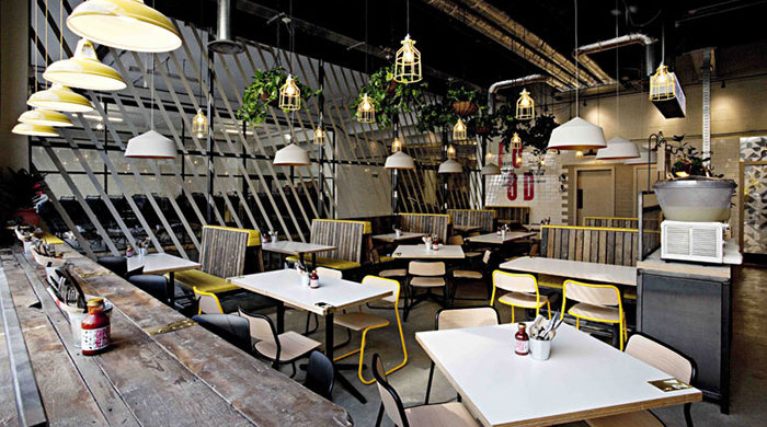 Мексиканский ресторан DF Mexico в лондонском Ист-Энде