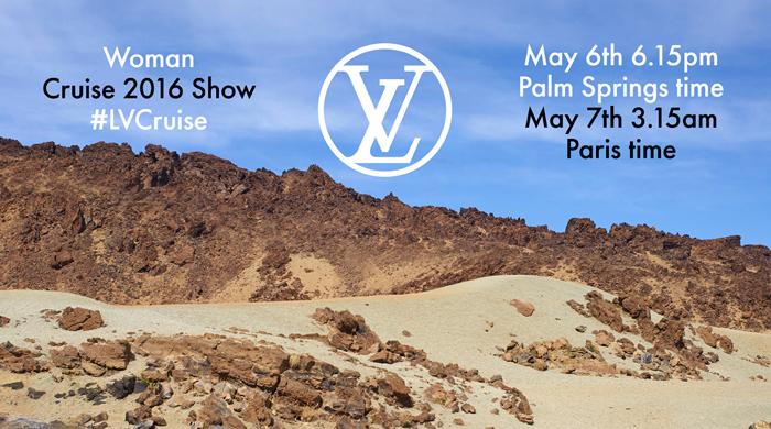Прямая трансляция показа Louis Vuitton в Палм-Спрингсе