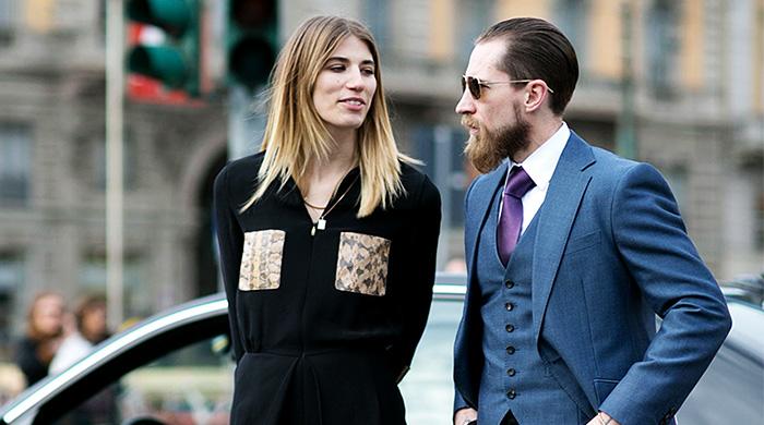 Неделя моды в Милане F/W 2015: street style. Часть 1