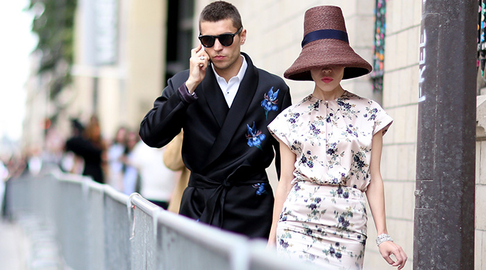 Неделя высокой моды в Париже: street style. Часть 1