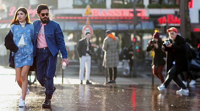 Мужская неделя моды в Париже F/W 2015: street style. Часть 3