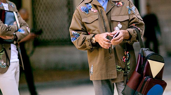 Неделя мужской моды в Париже, весна-лето 2016: street style. Часть 1