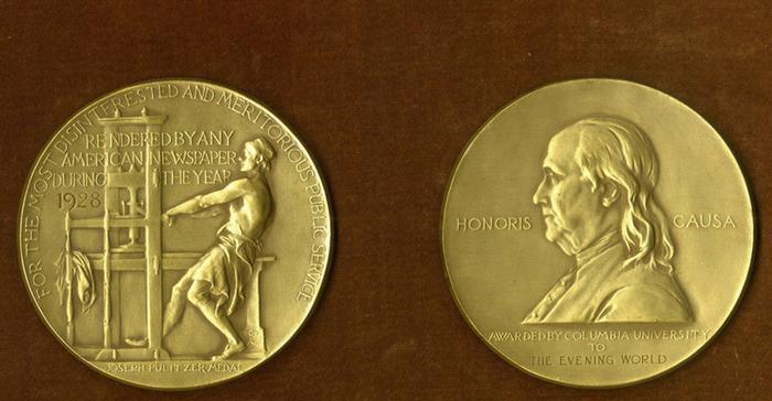 В Америке раздали Пулитцеровские премии