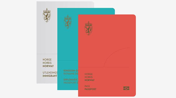 В новых паспортах Норвегии появится северное сияние