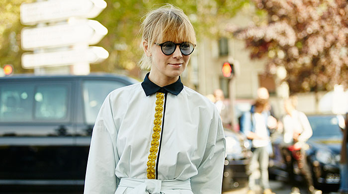 Неделя моды в Париже, весна-лето 2016: street style. Часть 3