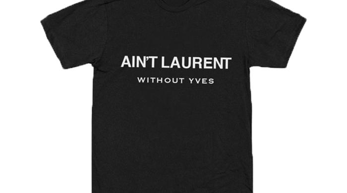 Yves Saint Laurent подают в суд на создателя пародийных футболок