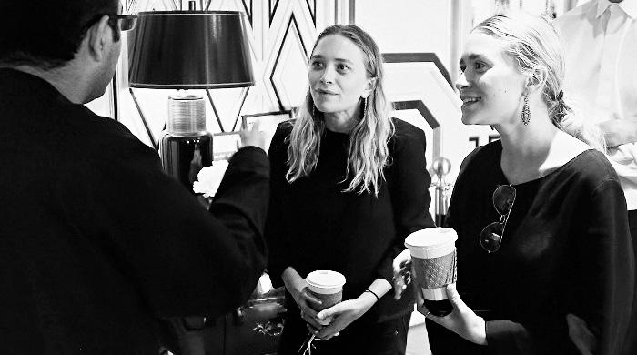 Презентация новой коллекции Мэри-Кейт и Эшли Олсен