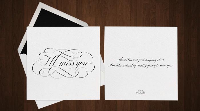 Paperless Post и J. Crew выпустили открытки с необычными пожеланиями