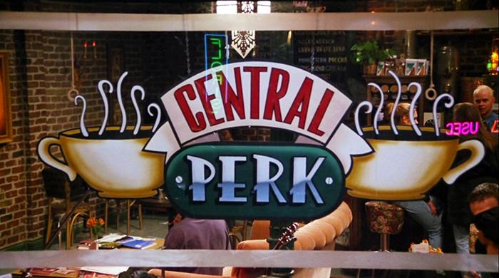 """На Манхэттене откроется кофейня Central Perk из сериала """"Друзья"""""""