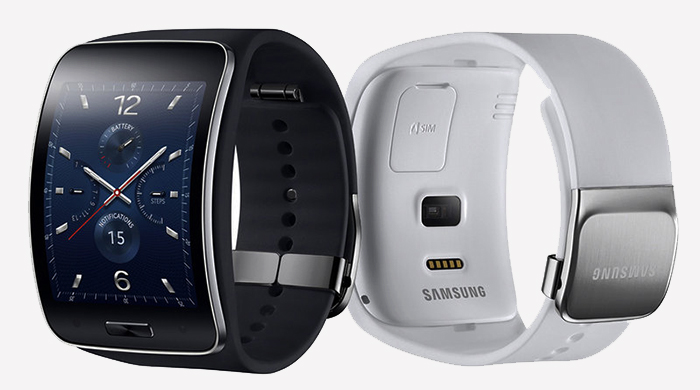 "Samsung представили ""умные"" часы Gear S с 3G-модулем"