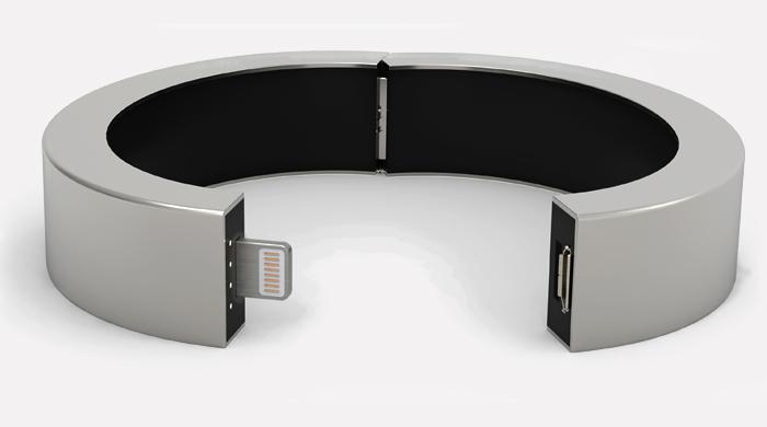 Мобильный QBracelet для подзарядки электронных устройств