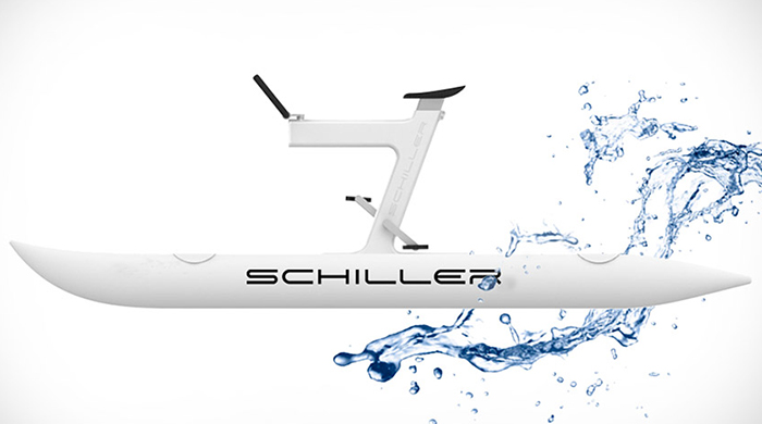 Велокатамаран Schiller X1 Water Bike
