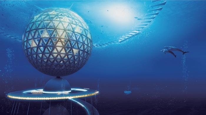 Современная Атлантида: подводный город Ocean Spiral