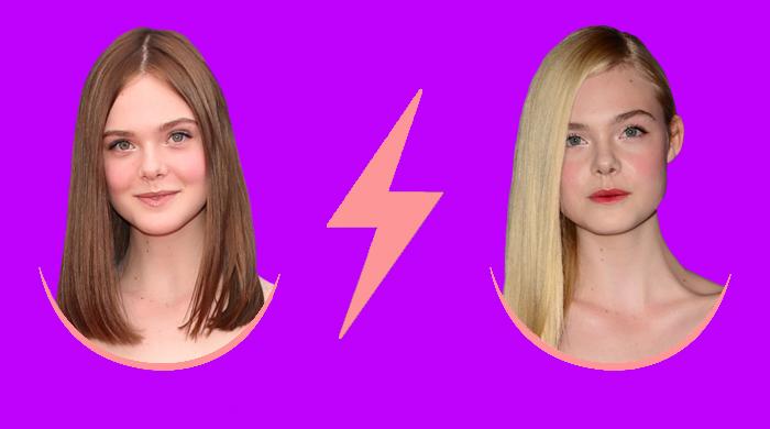 Голосование: новая прическа Эль Фаннинг vs. натуральный блонд
