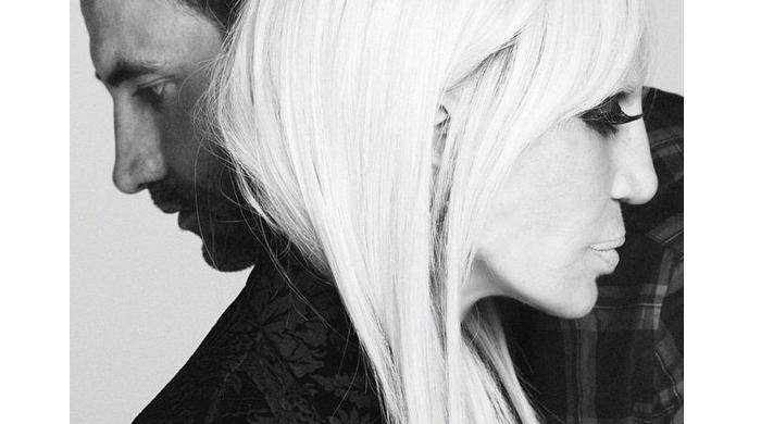 Донателла Версаче в рекламной кампании Givenchy